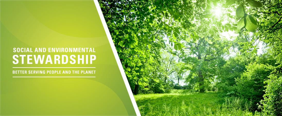Social and environmental stewardship
